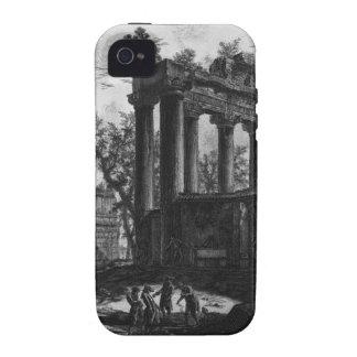 Otra vista de las ruinas de los pronaos iPhone 4 fundas