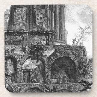 Otra vista del templo de la sibila en Tivoli Posavasos