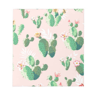 Otras flores preciosas del cactus bloc de notas