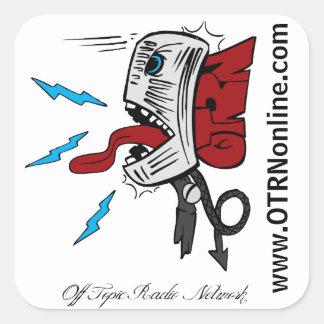 OTRN Square Sticker