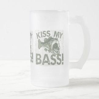Otro beso mi diseño bajo taza de cristal