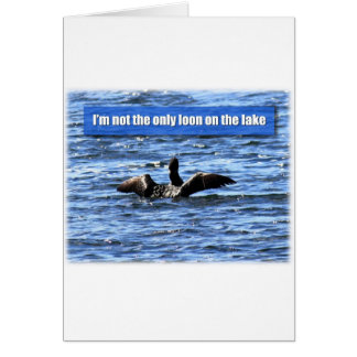 Otro bribón en el lago tarjeta de felicitación