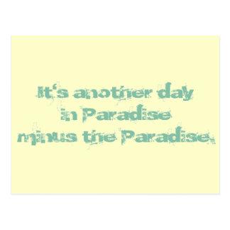 Otro día en paraíso postal