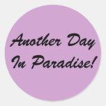 Otro día en pegatina del paraíso