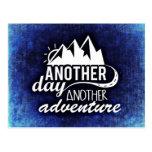 Otro día, otra aventura tarjeta postal