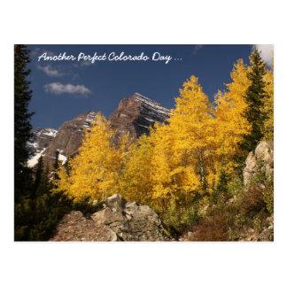 Otro día perfecto de Colorado… Postal