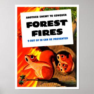 Otro enemigo para conquistar los incendios póster