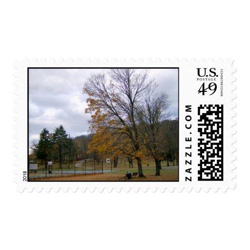 Otro franqueo del día del otoño sello