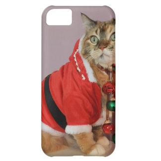 Otro gato de Santa del navidad Carcasa Para iPhone 5C