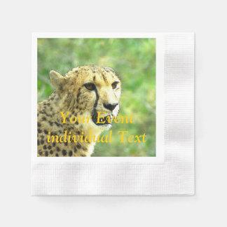 otro guepardo servilleta de papel