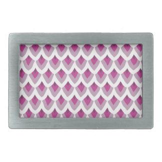 Otro modelo rosado bonito hebillas de cinturon rectangulares