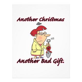 "otro navidad otra mala hembra del regalo folleto 8.5"" x 11"""