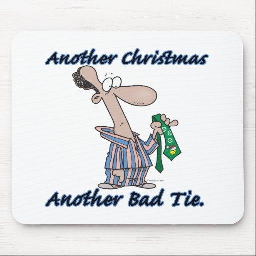 otro navidad otro mún lazo alfombrilla de ratón