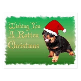Otro navidad putrefacto tarjeta postal