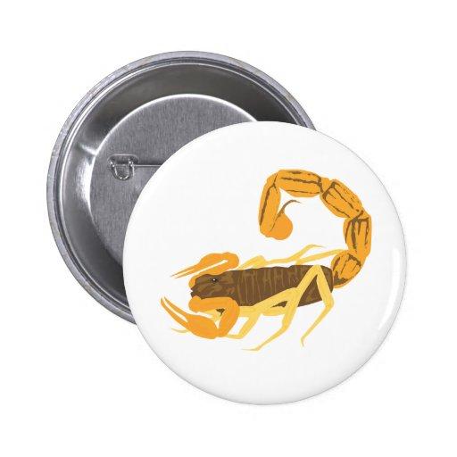Otro oro y escorpión de Brown Pin