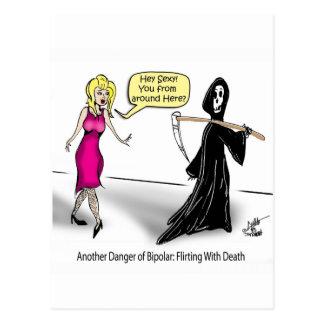 Otro peligro de bipolar El ligar con muerte Postal