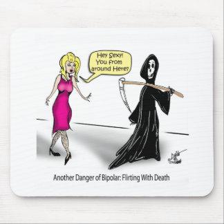 Otro peligro de bipolar: El ligar con muerte Tapetes De Ratones