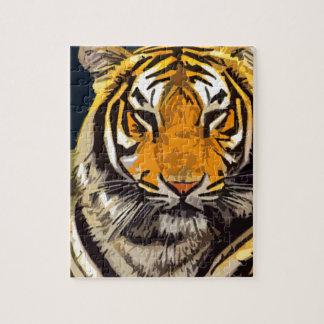otro tigre rompecabeza con fotos