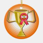 Otro trofeo ornaments para arbol de navidad