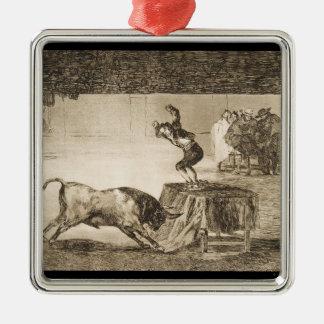 Otro truco por Martincho en el mismo anillo Goya Adorno Navideño Cuadrado De Metal
