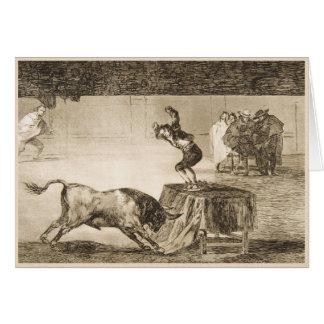 Otro truco por Martincho en el mismo anillo Goya Tarjeta Pequeña