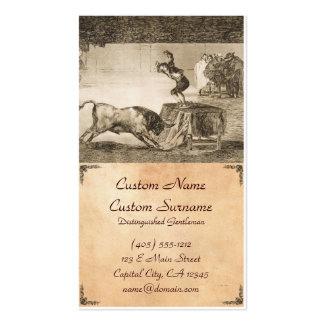 Otro truco por Martincho en el mismo anillo Goya Tarjetas De Visita