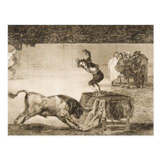 Otro truco por Martincho en el mismo anillo Goya Tarjetas Postales
