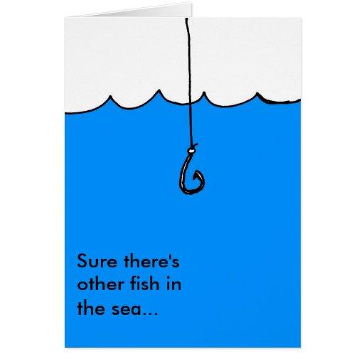 Otros pescados en el mar tarjeta de felicitación