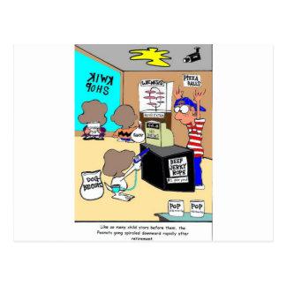 Otros regalos y camisetas divertidos criminales de tarjeta postal