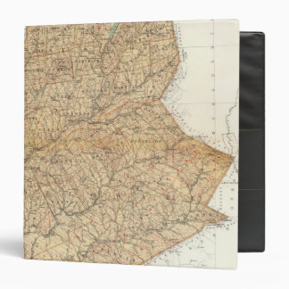 Otsego, Delaware counties 3 Ring Binder