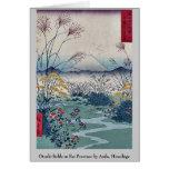 Otsuki coloca en la provincia de Kai por Ando, Hir Tarjeta