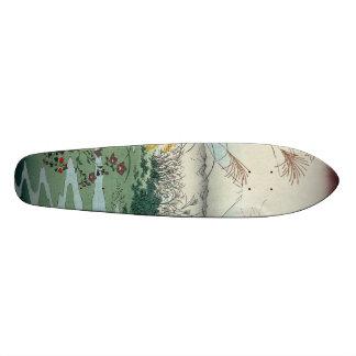 Otsuki fields in Kai Province Skateboard Deck