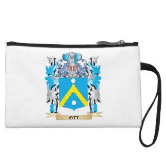 Ott Coat of Arms - Family Crest Wristlet Purse