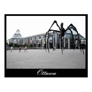 Ottawa, araña gigante postal