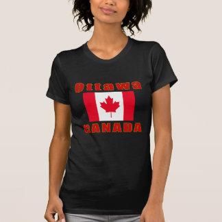 Ottawa Canada capital designs Tshirt