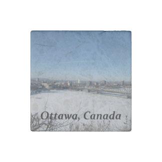 Ottawa Canada Stone Magnet