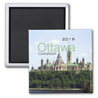 Ottawa Canada Travel Fridge Magnet Change Year