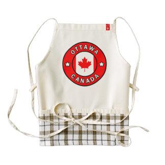 Ottawa Canada Zazzle HEART Apron