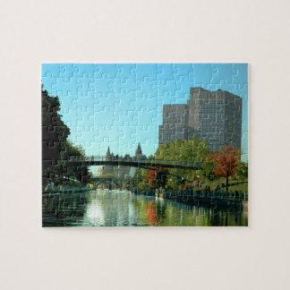 Ottawa canal jigsaw puzzles