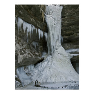 Ottawa Canyon - Starved Rock State Park Poster