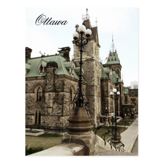Ottawa, colina del parlamento tarjetas postales