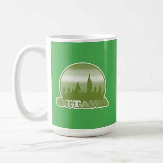 Ottawa Green Sun Coffee Mug