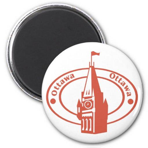 Ottawa Imán Redondo 5 Cm