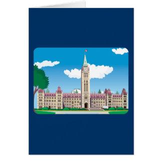 Ottawa Parliament Building Card