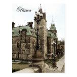 Ottawa, Parliament Hill Postcard