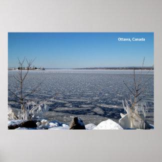 Ottawa River  Poster