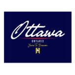 Ottawa Script Post Cards