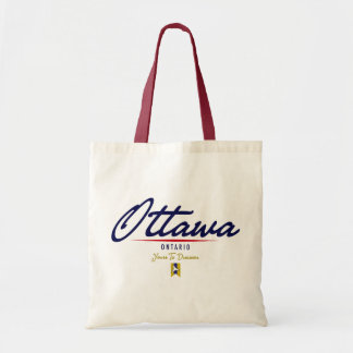 Ottawa Script Tote Bag