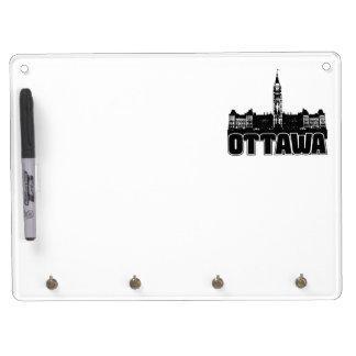 Ottawa Skyline Dry Erase Whiteboards