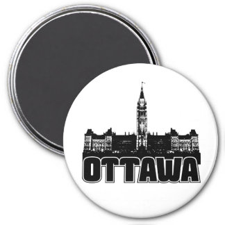 Ottawa Skyline Refrigerator Magnet